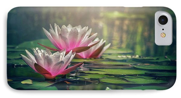 Gilding The Lily IPhone Case by Carol Japp