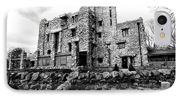 Gillette Castle IPhone Case by Catherine Reusch Daley