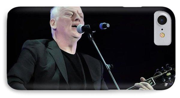 Gilmour #023 By Nixo IPhone Case by Nicholas Nixo