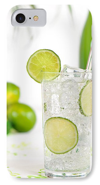 Gin And Tonic Drink Phone Case by Amanda Elwell
