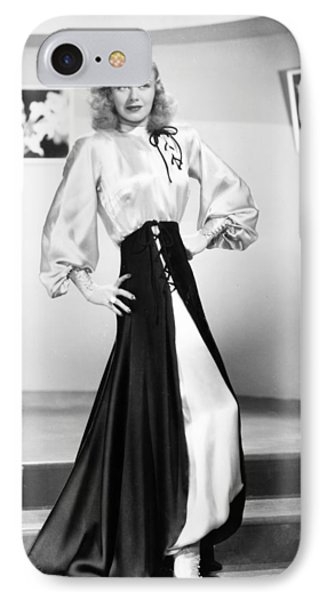 Ginger Rogers (1911-1995) IPhone Case by Granger