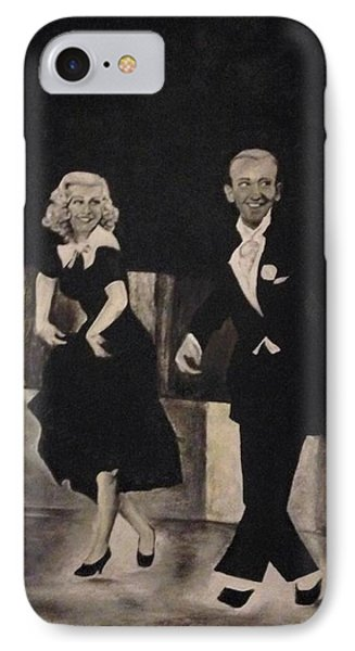 Ginger Rogers And Fred Astaire IPhone Case by Jennifer Farnsworth
