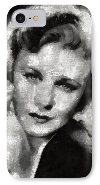Ginger Rogers By Mary Bassett IPhone Case by Mary Bassett