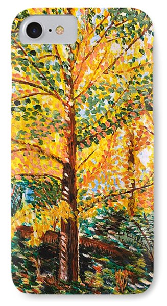 Gingko Tree IPhone Case by Valerie Ornstein