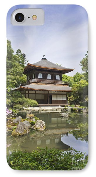 Ginkakuji Temple Phone Case by Rob Tilley