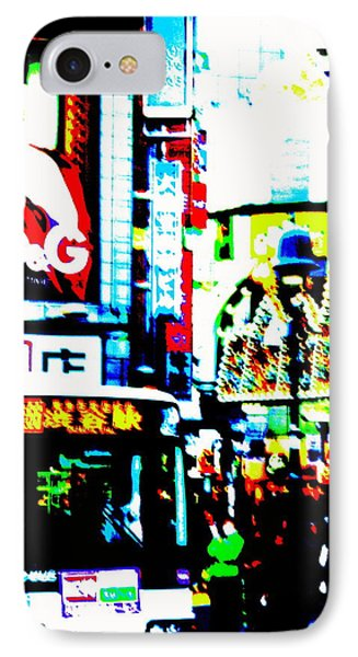 Ginza's Nights  IPhone Case by Funkpix Photo Hunter