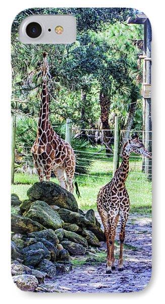 Giraffe Art I IPhone Case