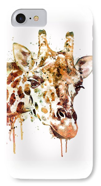Giraffe Head IPhone 7 Case