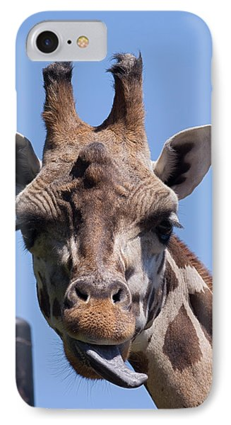 IPhone Case featuring the photograph Giraffe by JT Lewis