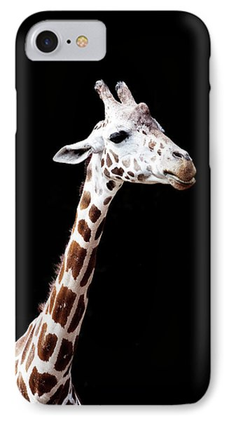 Giraffe IPhone 7 Case by Lauren Mancke