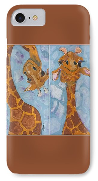 Giraffe Set IPhone Case