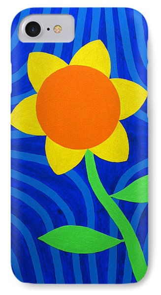 Girasol IPhone Case by Oliver Johnston