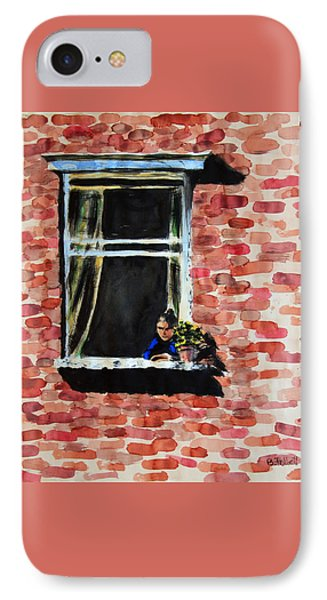 Girl At Window IPhone Case