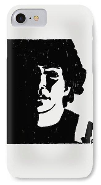 Girl In Shadow Phone Case by Sheri Buchheit