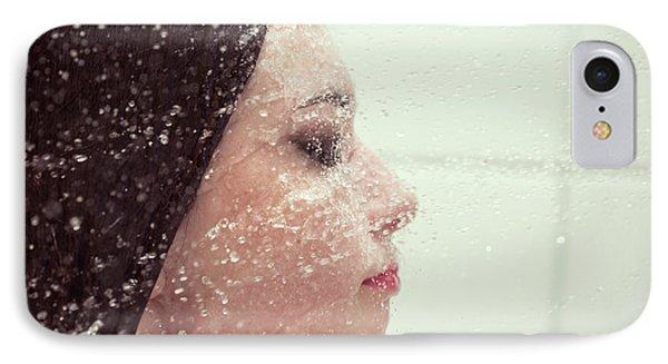 Girl In Splash IPhone Case by Aleksey Tugolukov