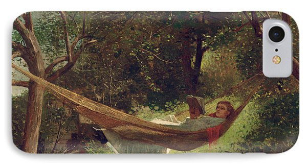 Girl In The Hammock IPhone Case