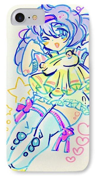 Girl04 IPhone Case