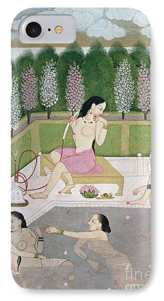 Girls Bathing IPhone Case