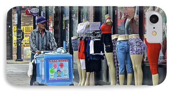 Girls, Let's Buy Ice Cream IPhone Case by Robert Frank Gabriel