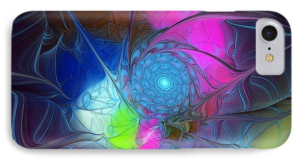 IPhone Case featuring the digital art Girls Love Pink by Karin Kuhlmann