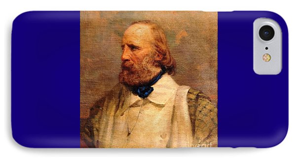 Giuseppe Garibaldi Phone Case by Pg Reproductions