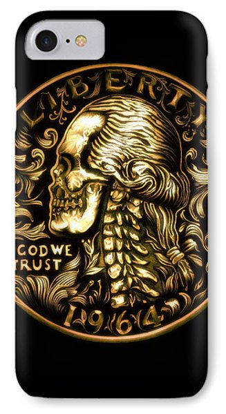 Give Me Liberty Or Give Me Death IPhone Case by Fred Larucci