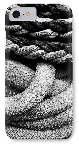 Give Them Some Rope Phone Case by Skip Hunt