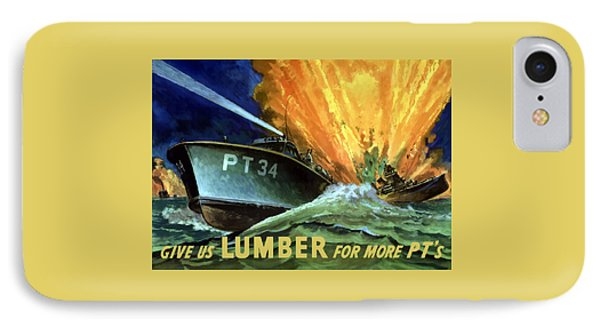 Give Us Lumber For More Pt's Phone Case by War Is Hell Store