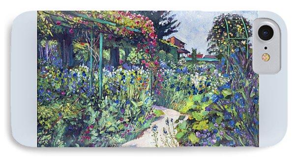 Giverny Garden De Monet IPhone Case