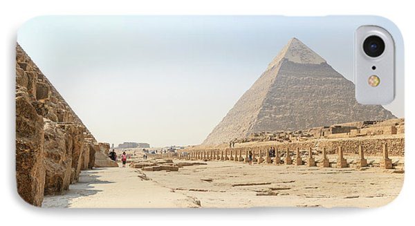 IPhone Case featuring the photograph Giza by Silvia Bruno