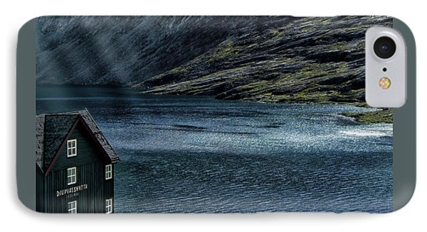IPhone Case featuring the photograph Glacial Lake by Jim Hill