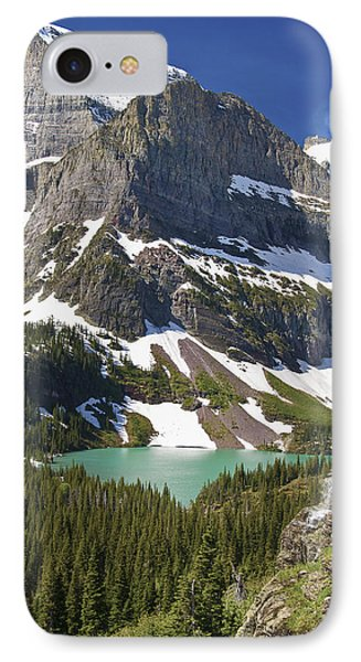 Glacier Backcountry IPhone Case by Gary Lengyel