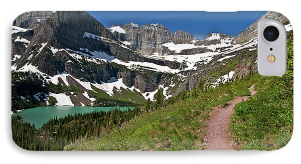 IPhone Case featuring the photograph Glacier Backcountry Trail by Gary Lengyel