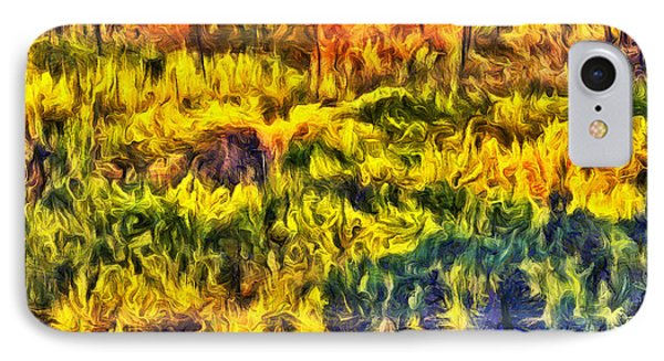 Glacier Fall Abstract IPhone Case