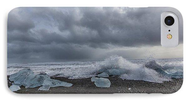 Glacier Ice 2 IPhone Case by Kathy Adams Clark