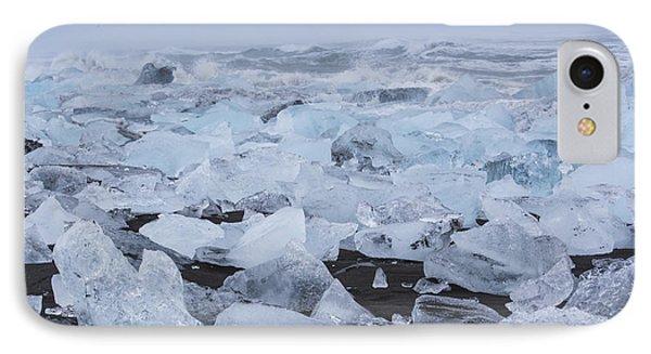 Glacier Ice IPhone Case by Kathy Adams Clark