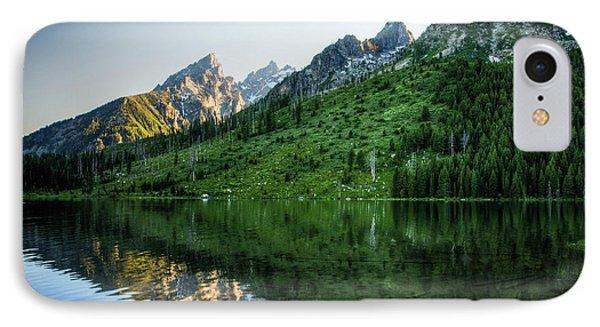 Glacier Lake IPhone Case by Rebecca Hiatt