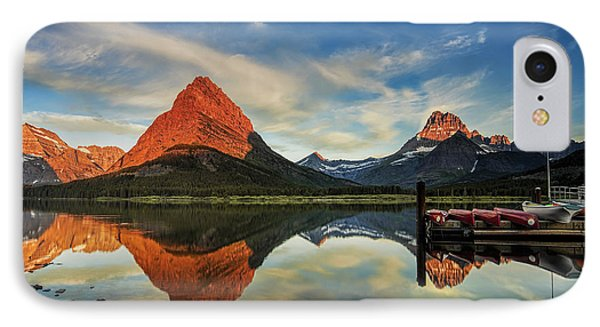 Glacier Morning IPhone Case by Andrew Soundarajan