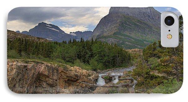Glacier National Park Landscape IPhone Case by Alan Toepfer
