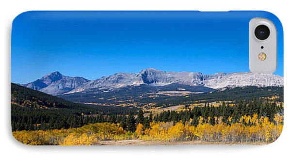 IPhone Case featuring the photograph Glacier National Park Panorama by Fran Riley