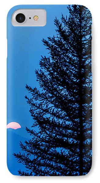 Glacier National Park Sunset Blue IPhone Case