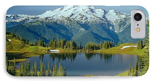 1m4422-glacier Peak, Wa  IPhone Case