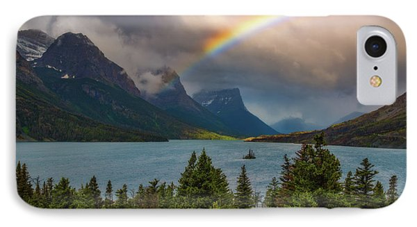 Glacier Rainbow IPhone Case by Darren White