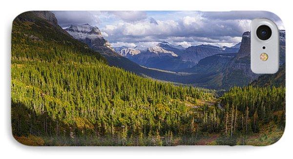 Glacier Storm IPhone Case by Chad Dutson