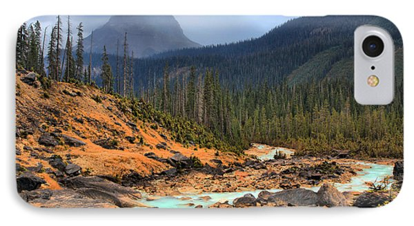 IPhone Case featuring the photograph Glacier Waters Flowing Through Yoho National Park by Adam Jewell