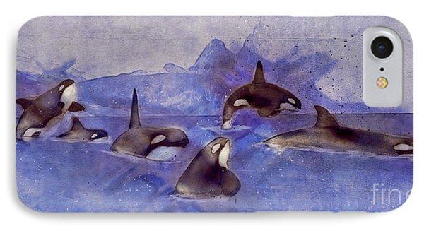 Glacier Whales IPhone Case