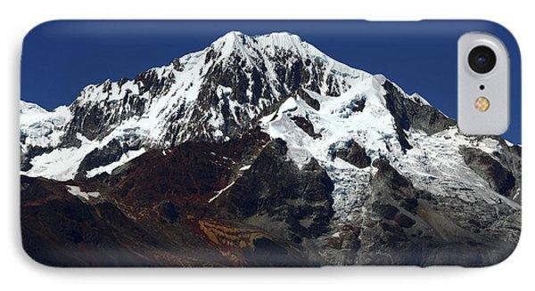 Glaciers Of Mt Illampu Bolivia IPhone Case