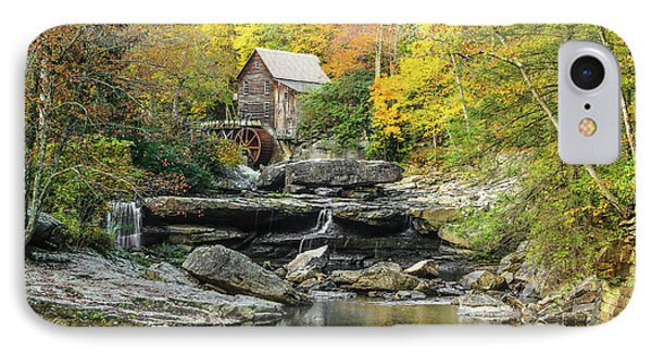 Glade Creek Grist Mill #1 IPhone Case by Tom and Pat Cory
