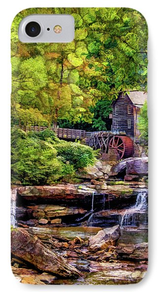 Glade Creek Grist Mill 3 - Overlay IPhone Case