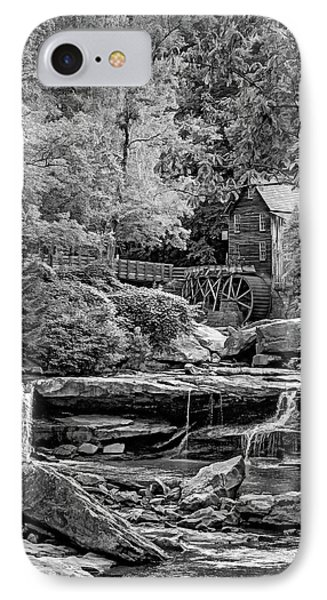 Glade Creek Grist Mill 3 - Vignette IPhone Case by Steve Harrington